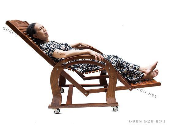 ghế thư giãn gỗ