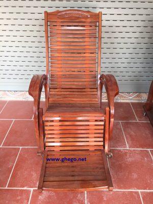 Ghế lười gỗ