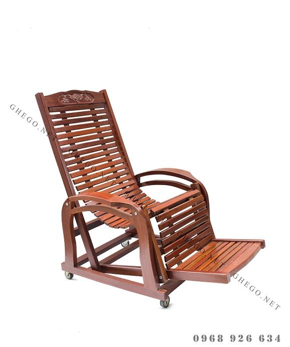 ghế lười gỗ Đoàn Minh