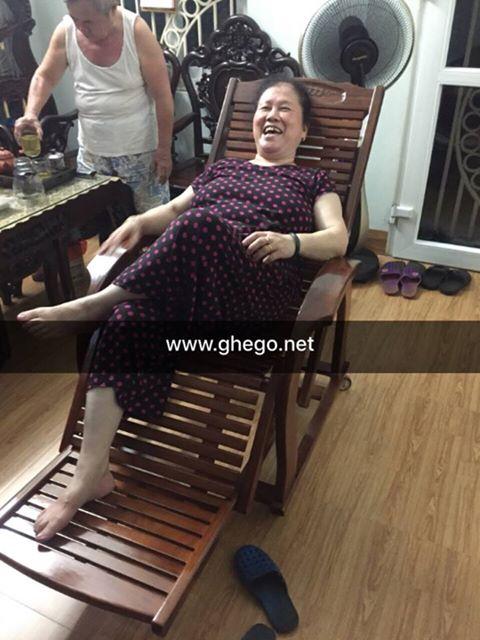 Ghế gỗ thư giãn