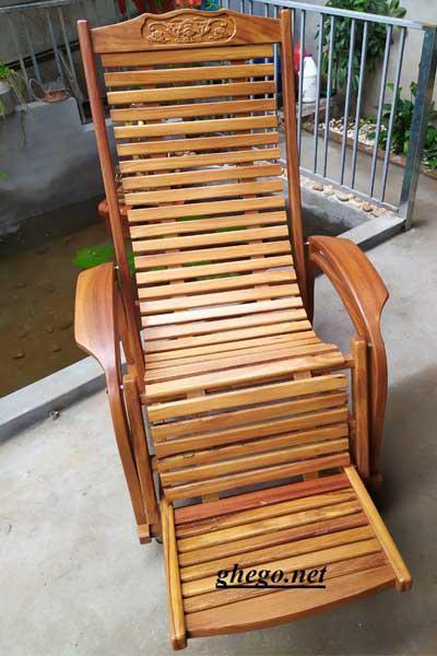 ghế gỗ gõ