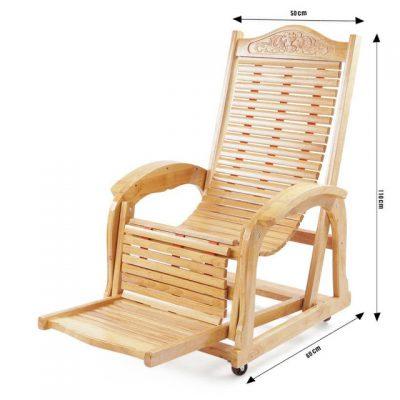 mẫu ghế thư giãn bằng gỗ