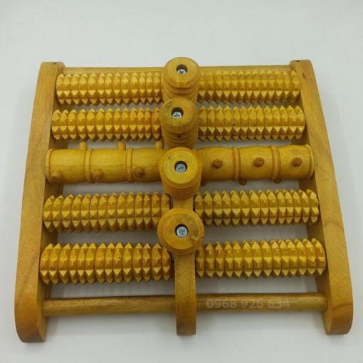 Bàn lăn chân gỗ M5
